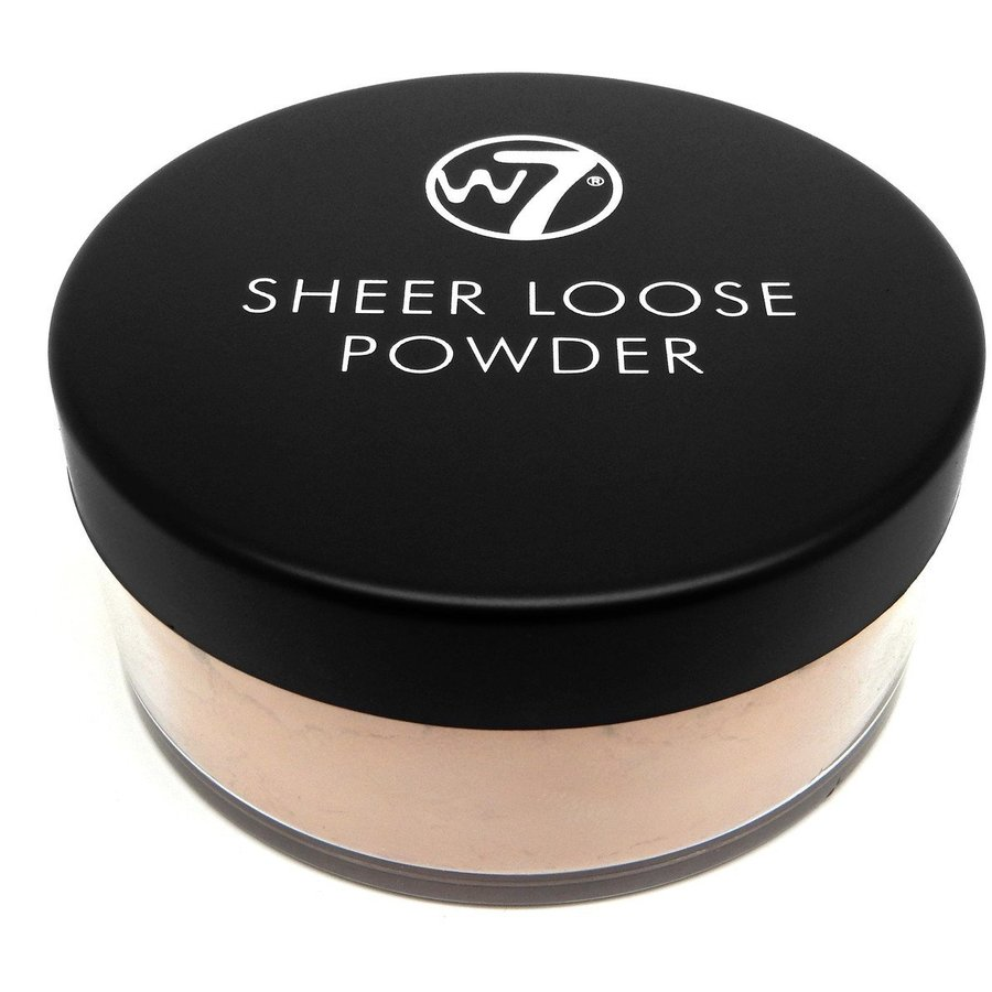 Pudra Fata W7Cosmetics Sheer Loose Powder Honey