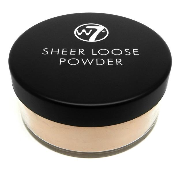 W7 Cosmetics Pudra Fata W7Cosmetics Sheer Loose Powder Natural Beige