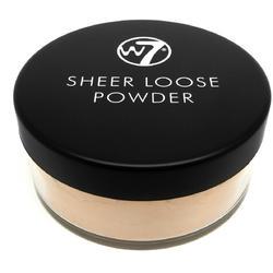 Pudra Fata W7Cosmetics Sheer Loose Powder Natural Beige