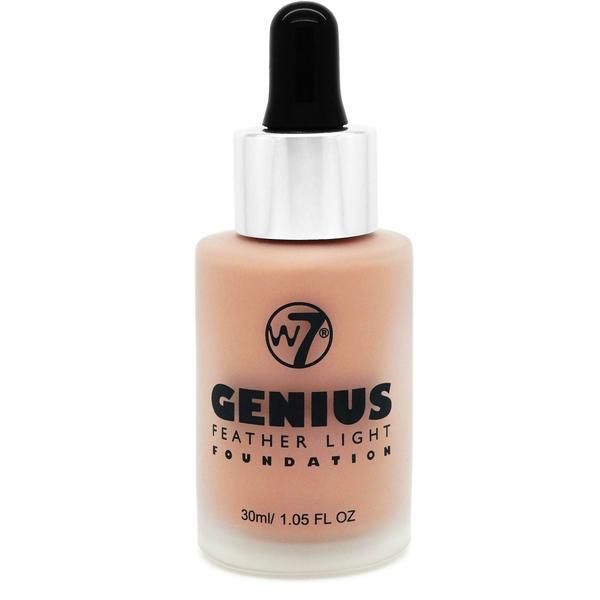 W7 Cosmetics Fond De Ten W7Cosmetics Genius Foundation Early Tan