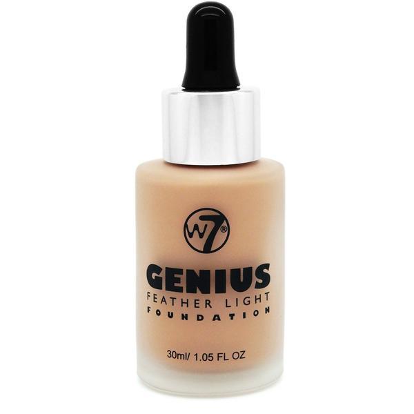 W7 Cosmetics Fond De Ten W7Cosmetics Genius Foundation Natural Beige