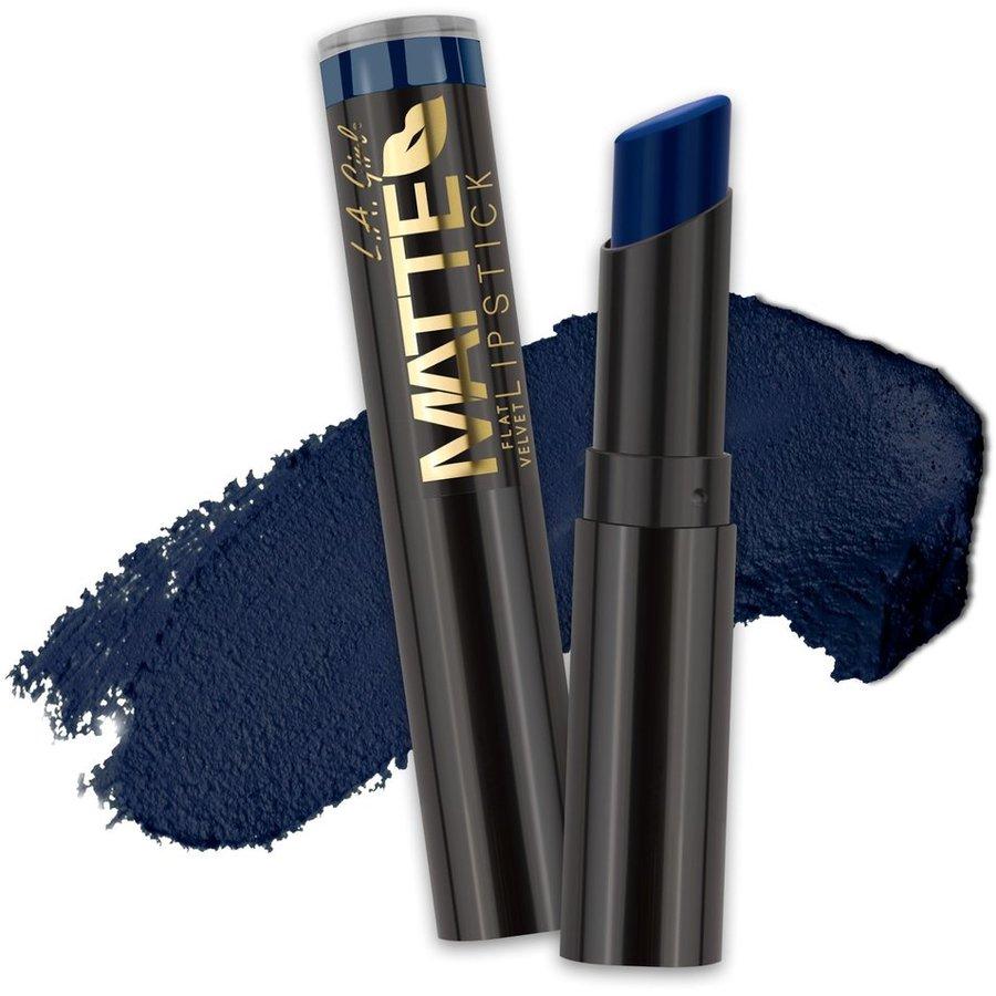 Ruj Mat L.a. Girl Matte Flat Velvet Blue Valentine