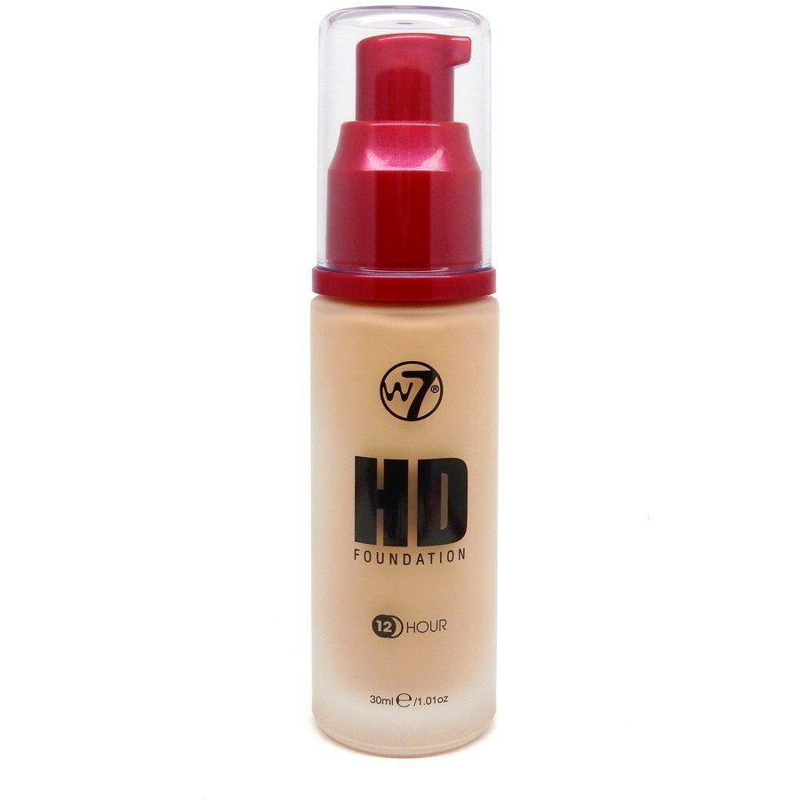 Fond De Ten W7Cosmetics HD Foundation Sand Beige