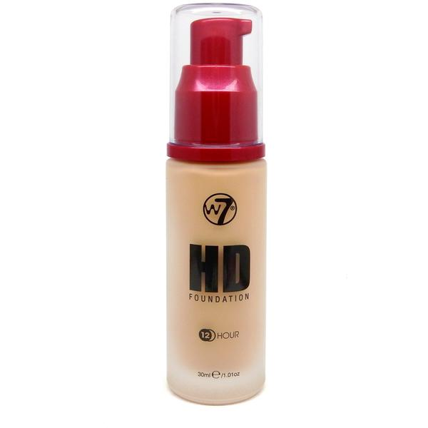 W7 Cosmetics Fond De Ten W7Cosmetics HD Foundation Sand Beige