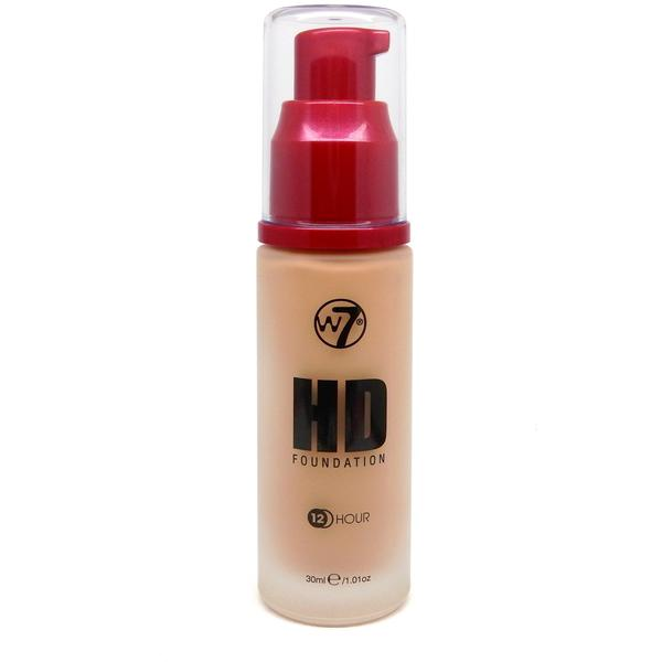 W7 Cosmetics Fond De Ten W7Cosmetics HD Foundation Natural Beige