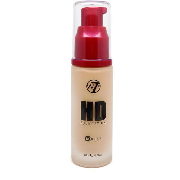 W7 Cosmetics Fond De Ten W7Cosmetics HD Foundation Early Tan