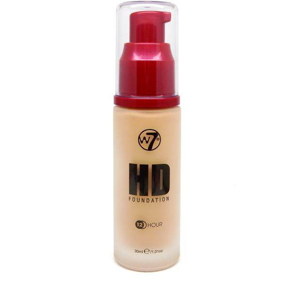 W7 Cosmetics Fond De Ten W7Cosmetics HD Foundation Fresh Beige