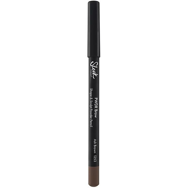 Sleek MakeUP Creion de sprancene Sleek PWDR Brow Shape And Sculpt Powder Pencil Ash Brown