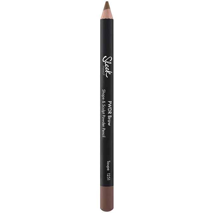 Creion de sprancene Sleek PWDR Brow Shape And Sculpt Powder Pencil Taupe