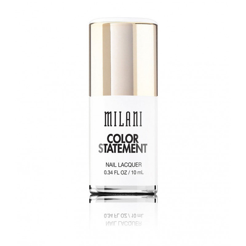 Lac Unghii Milani Color Statement Nail Lacquer Spotlight White
