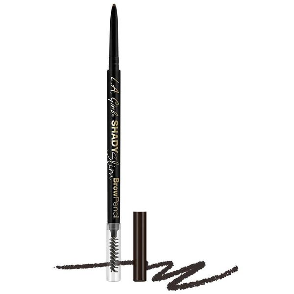 L.A. Girl Creion De Sprancene Shady Slim Brow Pencil - Blackest Brown