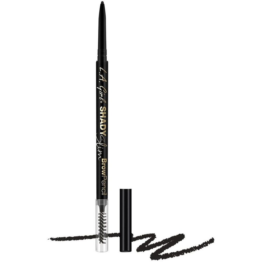 Creion De Sprancene Shady Slim Brow Pencil Black
