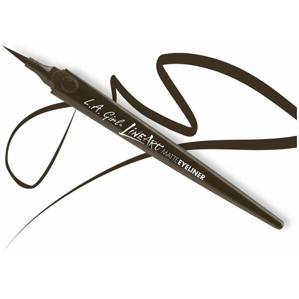 Creion De Ochi L.A. Girl LineArt MatteEyeliner Pen Espresso GLE713