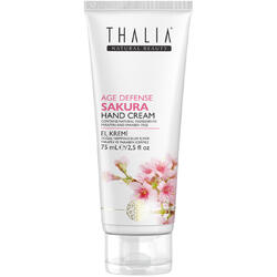 Crema de maini cu extract de sakura Age-Defense Thalia 75 ml