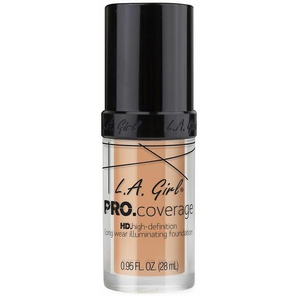 Fond De Ten L.A. Girl Pro Coverage HD High-Definition Long Wear Illuminating Foundation Porcelain GLM643