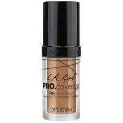 Fond De Ten L.A. Girl Pro Coverage HD High-Definition Long Wear Illuminating Foundation Beige GLM646