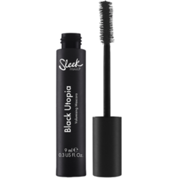 Mascara Sleek Makeup Black Utopia Volumising Black
