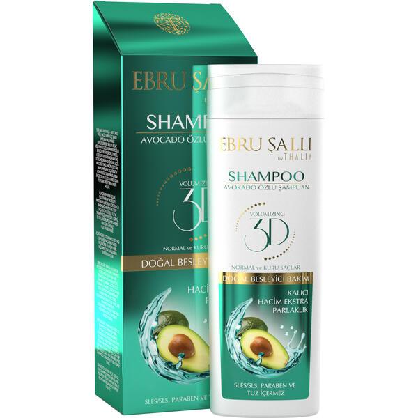 Sampon pentru volum cu extract de avocado Thalia 300 ml