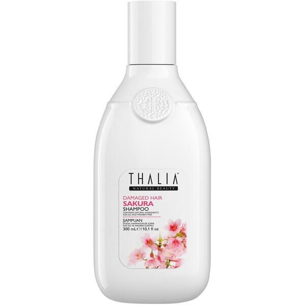 Sampon pentru par degradat cu extract de sakura Thalia 300 ml