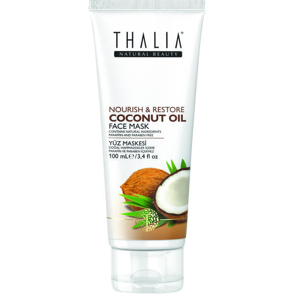 Masca de fata cu ulei de cocos Thalia 100 ml