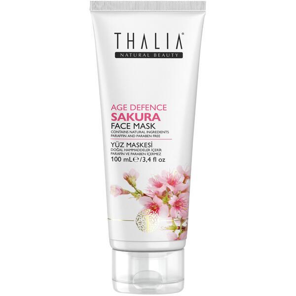 Masca de fata cu extract de sakura Age Defence Thalia 100 ml