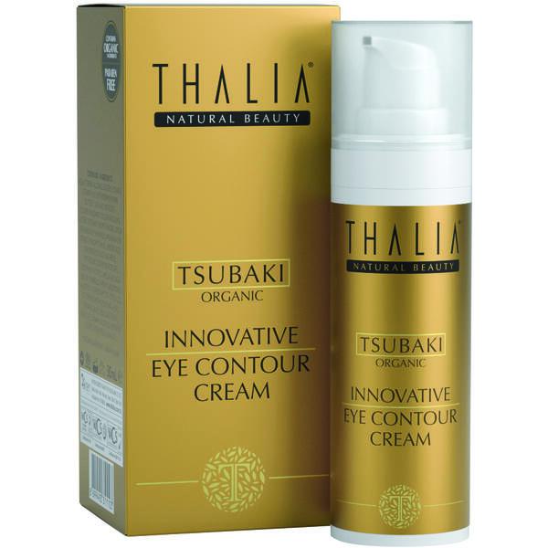 Crema contur de ochi cu extract de tsubaki Thalia 30 ml