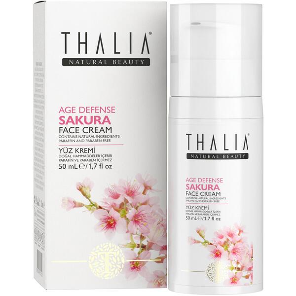 Crema de fata anti-imbatranire Thalia Age Defense sakura 50 ml