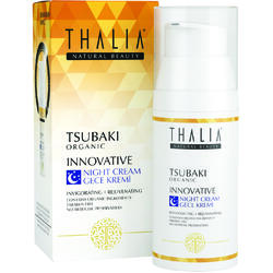 Crema antirid de noapte organica cu extract de tsubaki Thalia 50 ml