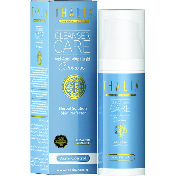 Crema de fata anti-acnee Thalia Cleanser Care 50 ml