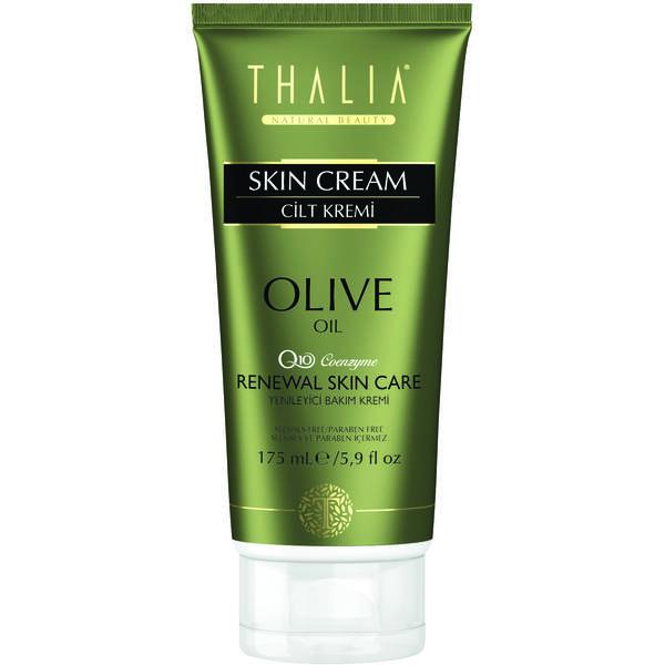 Crema de fata si corp cu ulei organic de masline si coenzima Q10 Thalia 175 ml