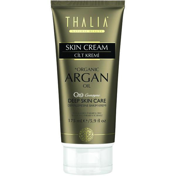 Crema de fata si corp cu ulei organic de argan si coenzima Q10 Thalia 175 ML
