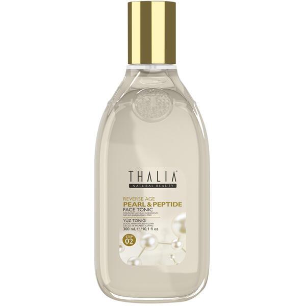Lotiune tonica cu perle, peptide si acid hialuronic Thalia Reverse Age 300 ml