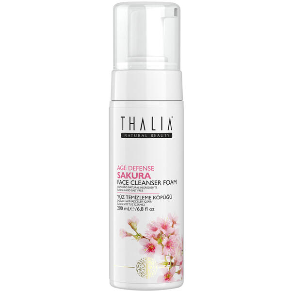 Spuma de curatare fata Thalia Age Defense Sakura 200 ml