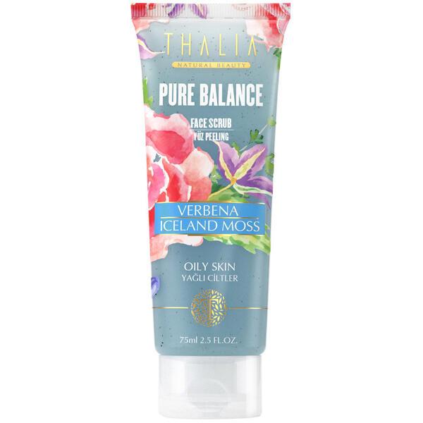 Scrub De Fata Thalia Pure Balance Face Scrub Verbena Iceland Moss 75 ml