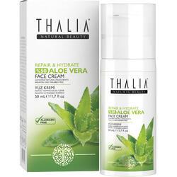 Crema De Fata Cu Aloe Vera Thalia Repair&Hydrate Aloe Vera Face Cream 50 ml