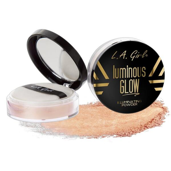Iluminator Pudra L.A. Girl Luminous Glow Illuminating Powder GLP695 Sunkissed