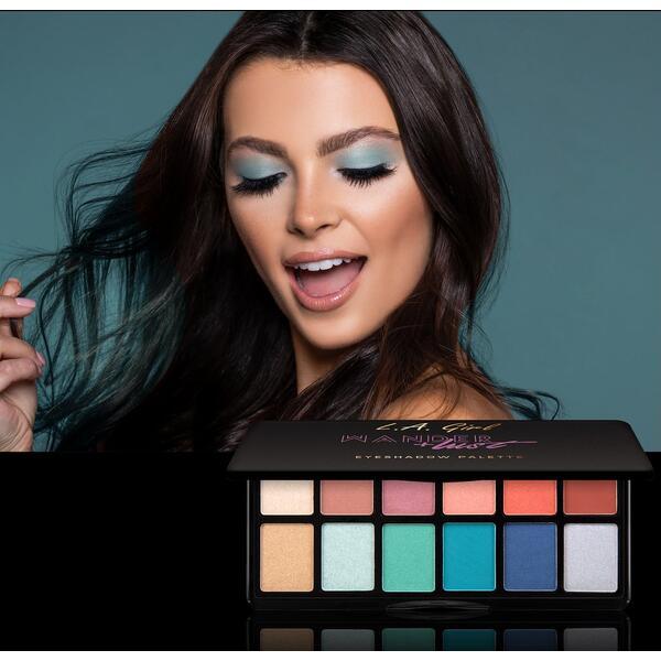 Paleta De Farduri L.A. Girl Fanatic Eyeshadow Palette GES417 Wanderlust