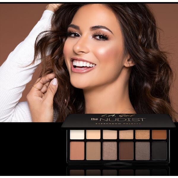 Paleta De Farduri L.A. Girl Fanatic Eyeshadow Palette GES418 The Nudist