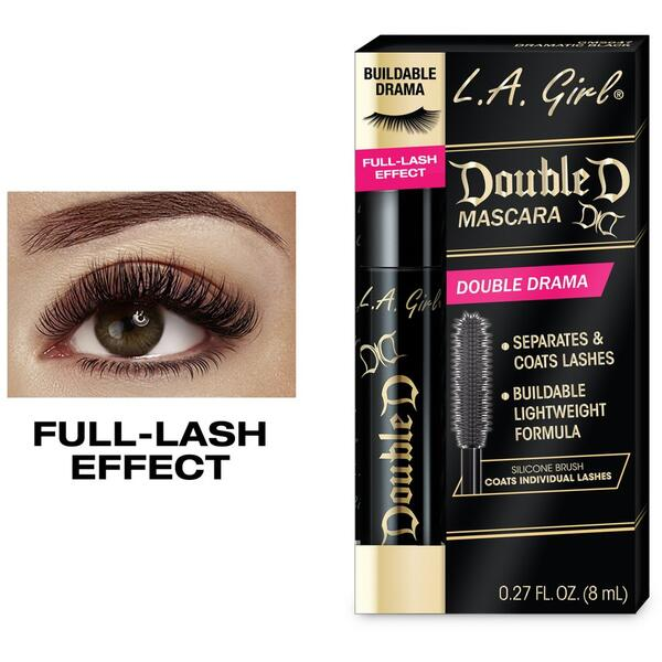 Mascara L.A. Girl Double D Mascara Double Drama GMS647 Dramatic Black