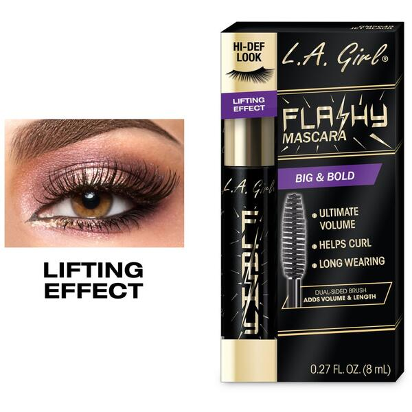 Mascara L.A. Girl Flashy Mascara Big&Bold GMS649 Jet Black