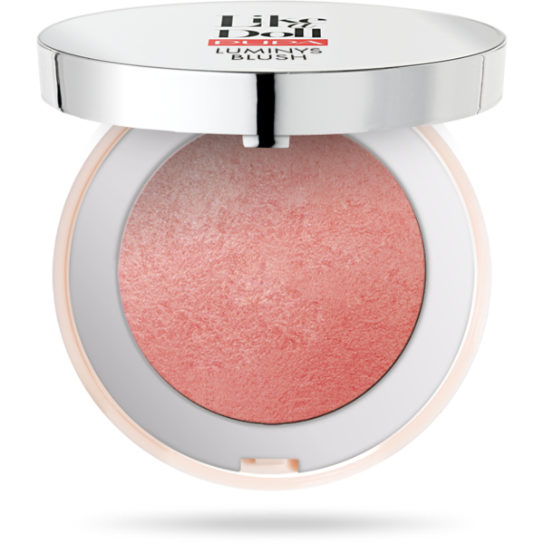 Pupa Milano Fard De Obraz Pupa Like A Doll Luminys Blush 100 Rose Peony