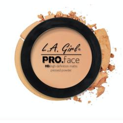 Pudra De Fata L.A. Girl Pro Face Matte Pressed Powder - GPP605 - Nude Beige