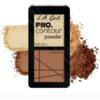 Paleta Contouring L.A. Girl Pro Contour Powder - GCP662 - Light