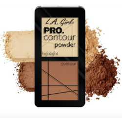 Paleta Contouring L.A. Girl Pro Contour Powder - GCP662 - Light
