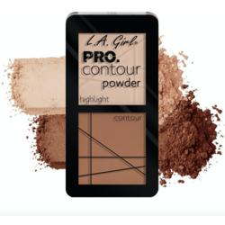 Paleta Contouring L.A. Girl Pro Contour Powder - GCP663 - Natural