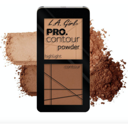 Paleta Contouring L.A. Girl Pro Contour Powder - GCP664 - Medium