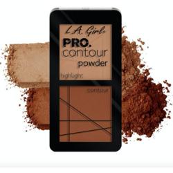 Paleta Contouring L.A. Girl Pro Contour Powder - GCP665 - Tan