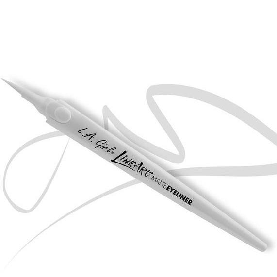 Creion De Ochi L.A. Girl LineArt MatteEyeliner Pen Pure White GLE715