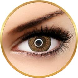 Adore Crystal Hazel - lentile de contact colorate caprui trimestriale - 90 purtari (2 lentile/cutie)