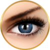 Adore Dare Blue - lentile de contact colorate albastre trimestriale - 90 purtari (2 lentile/cutie)